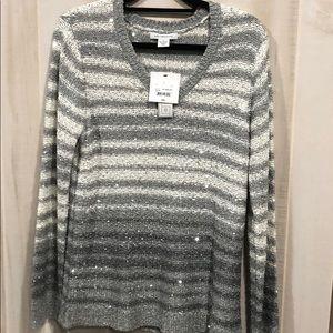 Liz Claiborne v-neck sweater